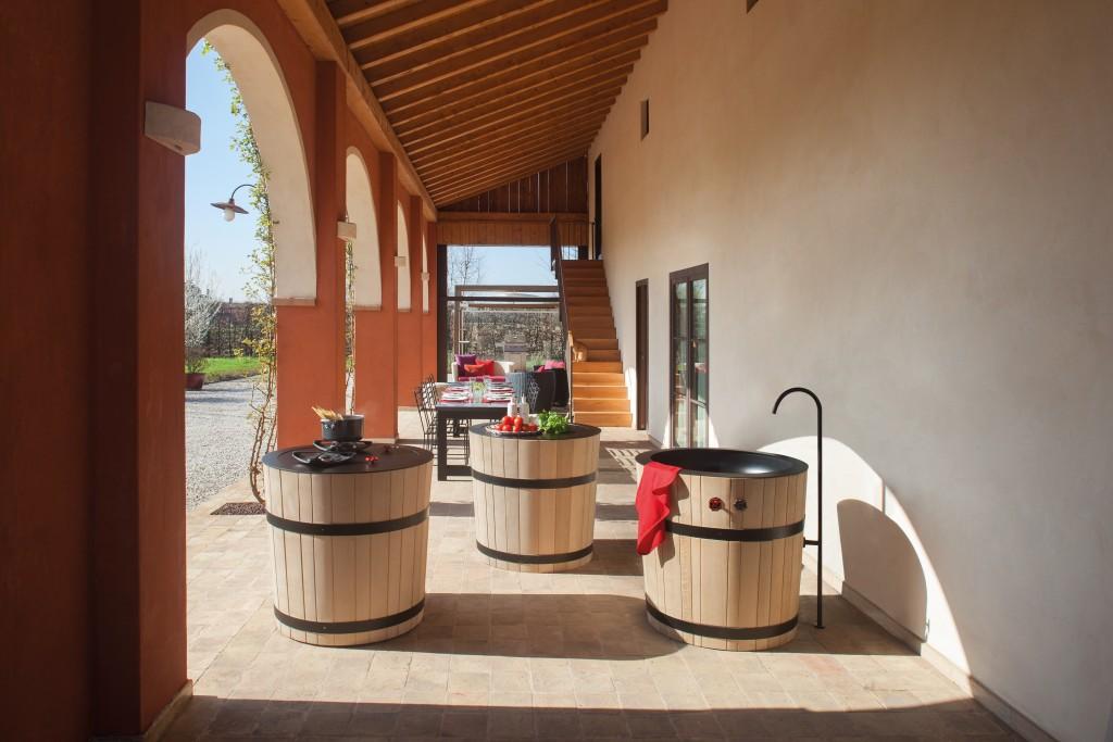 Коллекция мебели дня кухни Tinozza